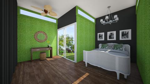 Tropical Resort - Global - Bedroom - by JazzyAllen
