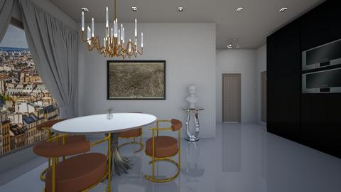 Modern Classic - Dining room - by Ginntare