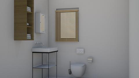 Une Petite Salle de Bain - Bathroom - by lovedae_parfait