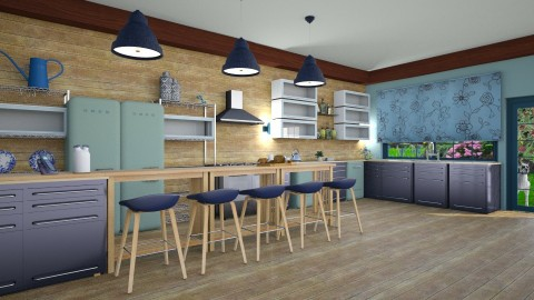 bluetwo - Modern - Kitchen  - by donella