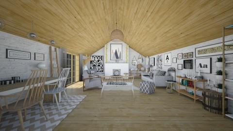 Swedish - Minimal - Living room  - by camilla_saurus