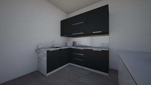 new and inproved kitchen - Modern - Kitchen  - by jaslene_L08