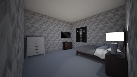 my room - Modern - Bedroom  - by jtutterback
