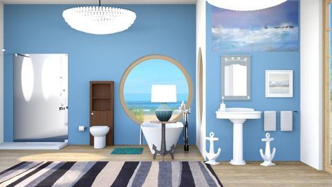 Nautical Bathroom - by Horse_Lover_Mel