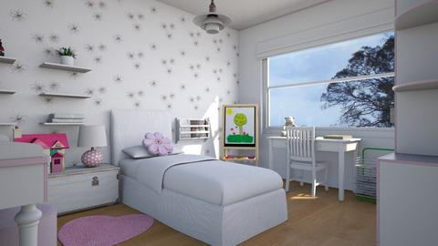 For VP123 V - Eclectic - Kids room  - by Theadora