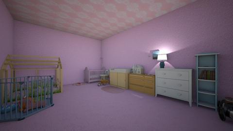 Nursery room - Feminine - Kids room  - by Auv