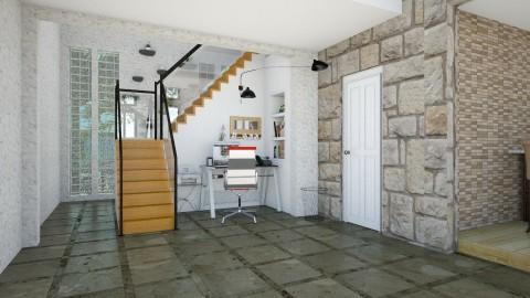 Casa com Jardim Interno - Glamour - Office  - by Mariesse Paim