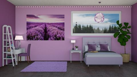 Lavender - Bedroom  - by LaylaaaarrrJF