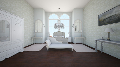 French boudoir bedroom - Vintage - Bedroom - by Interior enthusiast