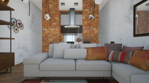 Apartment Wall Layout  - Classic - Living room  - by chania