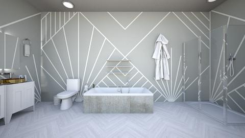 Art Deco Bathroom  - Bathroom  - by Agamanta