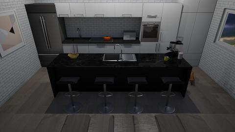 cool kitchen - Kitchen  - by DreamerStar202