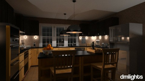 Kitchen - Classic - Kitchen  - by DMLights-user-1172368