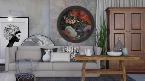 Rustic Living - Rustic - Living room - by HenkRetro1960