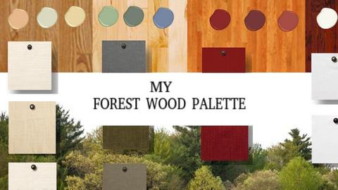 My Forest Wood Palette - by ilikalle
