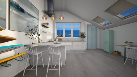 Ocean Kitchen - Kitchen  - by diegobbf