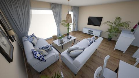 Parter - Classic - Living room  - by joannaoliwa