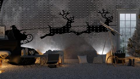 Cosyyyy_Christmas Wall - Living room  - by KittyT6