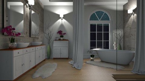 Relaxing bath - Bathroom  - by Sanare Sousa