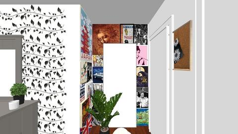 New Room - Minimal - Bedroom  - by julissariverat