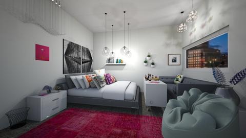Master Bedroom - Classic - Bedroom  - by Zombiecat