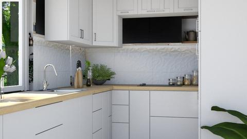 Obronek - Kitchen  - by L A Y S K A