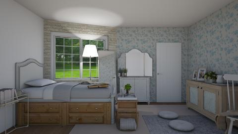 aesthetic room - Bedroom  - by joetee