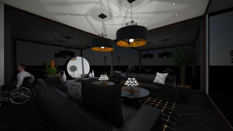 emo wheelchair - Living room  - by Jacornonthecob