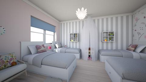 Modern country house8 - Kids room  - by AleksandraZaworska98