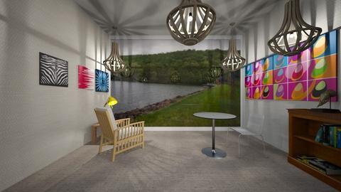 Quiet Beach - Modern - Living room  - by marcusb29598