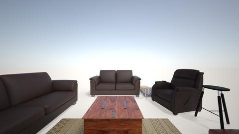 sitting room - Rustic - Living room  - by birkie101