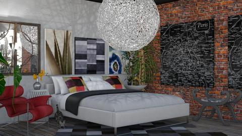 Modern Boho By Luz - Eclectic - Bedroom  - by LuzMa HL