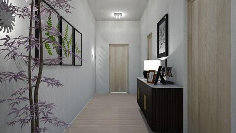 Welcoming Hallway - Modern - by vallequeen