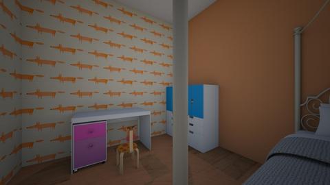 Future House - Garden  - by Keira10lovesdogs