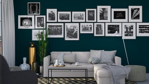 Picture Wall - Glamour - Living room  - by HenkRetro1960