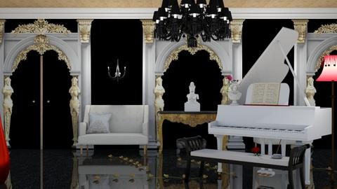 chandelier - Living room  - by nat mi