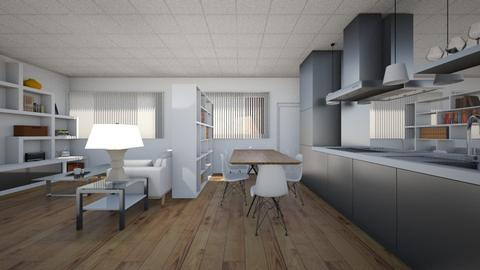 Student Apartment Kitchen - Kitchen  - by SammyJPili