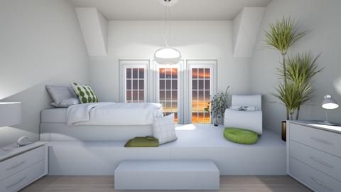 Simple Bedroom - Classic - Bedroom  - by haileymilby