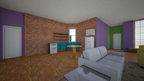 friends room nr 20 - Living room - by princessofpuppets