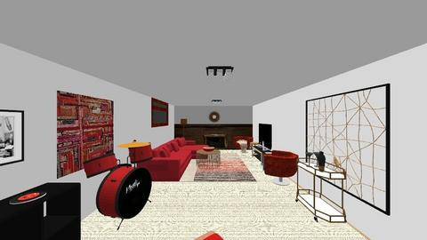 Den Ali_Fierce - Retro - Living room  - by Alihernandez123