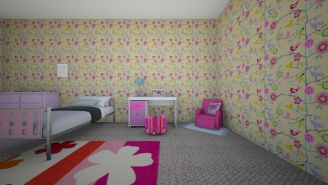 my future house - Vintage - Kids room  - by jasmine lyle