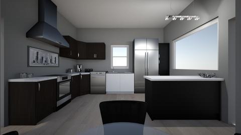 kitchen 1 cook view - Kitchen - by addiemel1