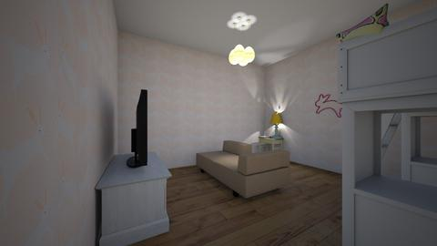 Bunny fans room  - Kids room  - by animal fan