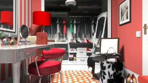 Dressing room - Classic - by SariJo