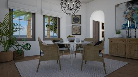 Rattan - Dining room  - by Tuija