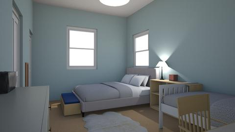Emma Bedroom - Bedroom - by Emma_Rosenberg
