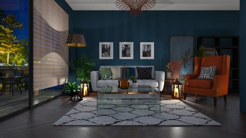 Living room and kitchen - by euodia