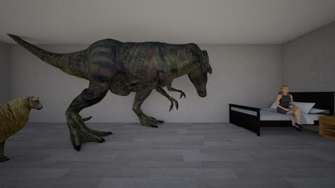 i am a dinosaur  - Classic - Garden  - by nest 9