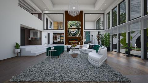 livingroom rainy day - Living room  - by sarasepideh