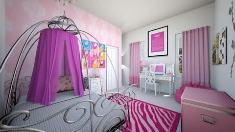 Pink - Bedroom  - by SammyJPili